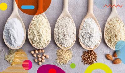 Sensibilità al glutine: cucchiai con diverse farine - alimentazionebambini. It by coop