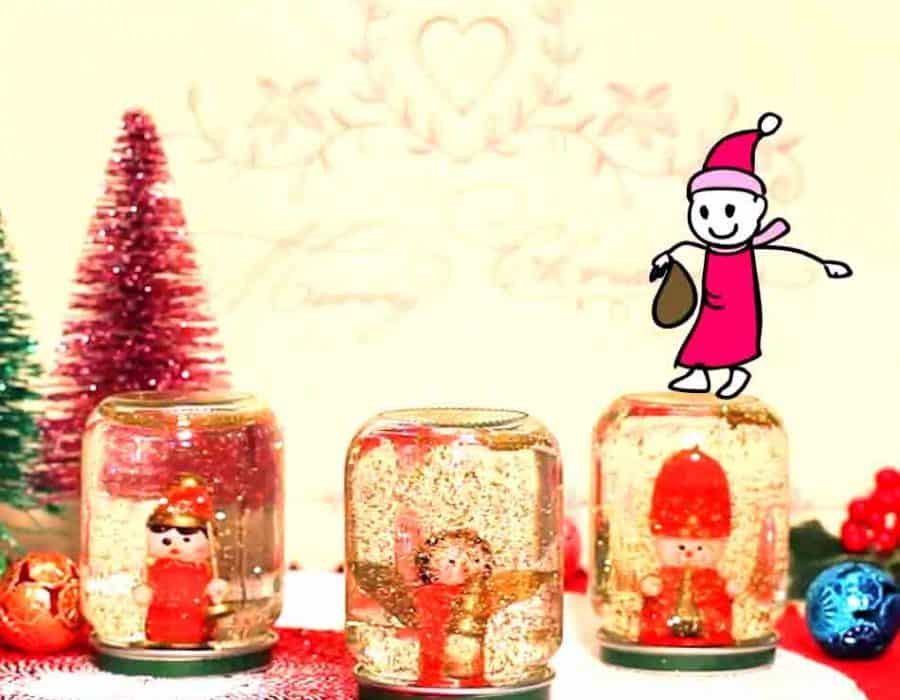 Palla di neve di Natale