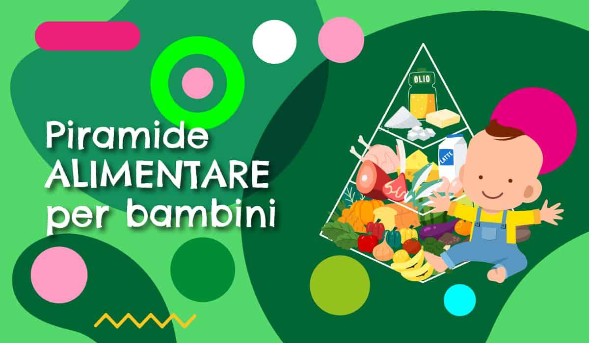 Piramide alimentare bambini illustrazione - alimentazionebambini. It by coop