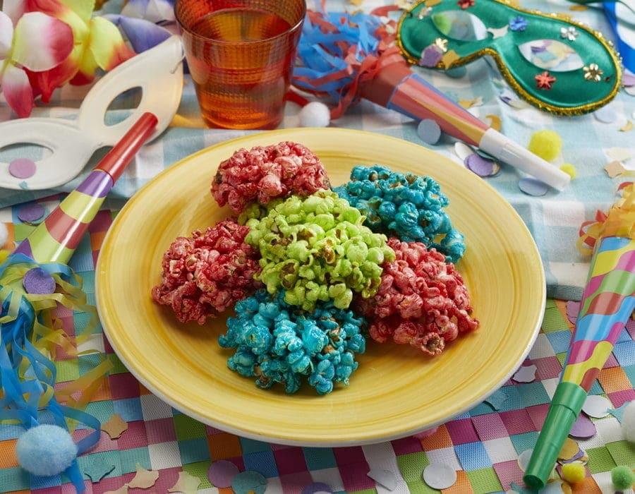 pop corn dolci di carnevale