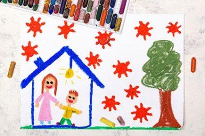 Come trascorrere le giornate in casa coi bambini al tempo del Coronavirus alimentazionebambini.it