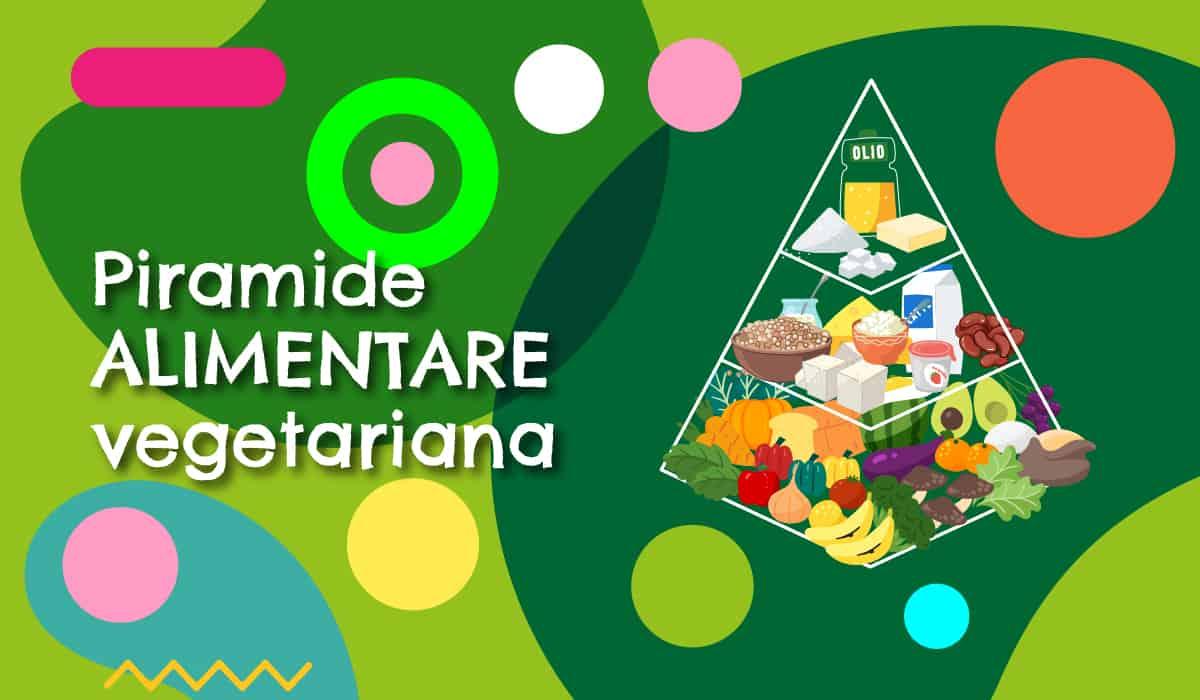 Piramide alimentare vegetariana illustrazione 1 - alimentazionebambini. It by coop