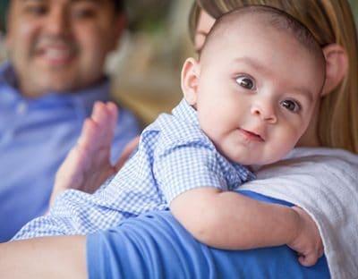 Il ruttino del neonato: tutto quello che c'è da sapere