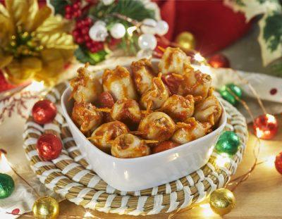 Calamari con sorpresa per il cenone di Natale