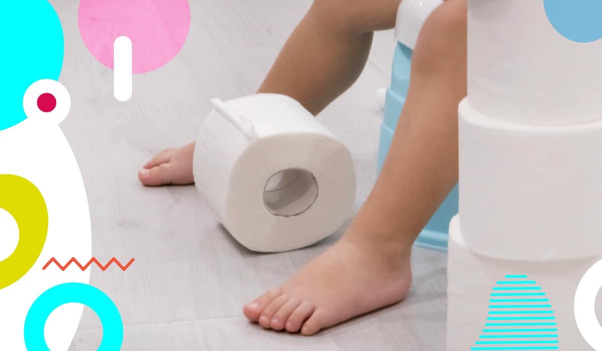 Diarrea nei bambini, carta igienica ai piedi di un bambino - alimentazionebambini. It by coop