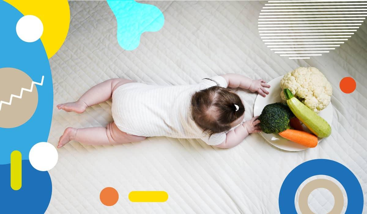 Integratori per vegani e vegetariani,bambino tocca verdure - alimentazionebambini. It by coop