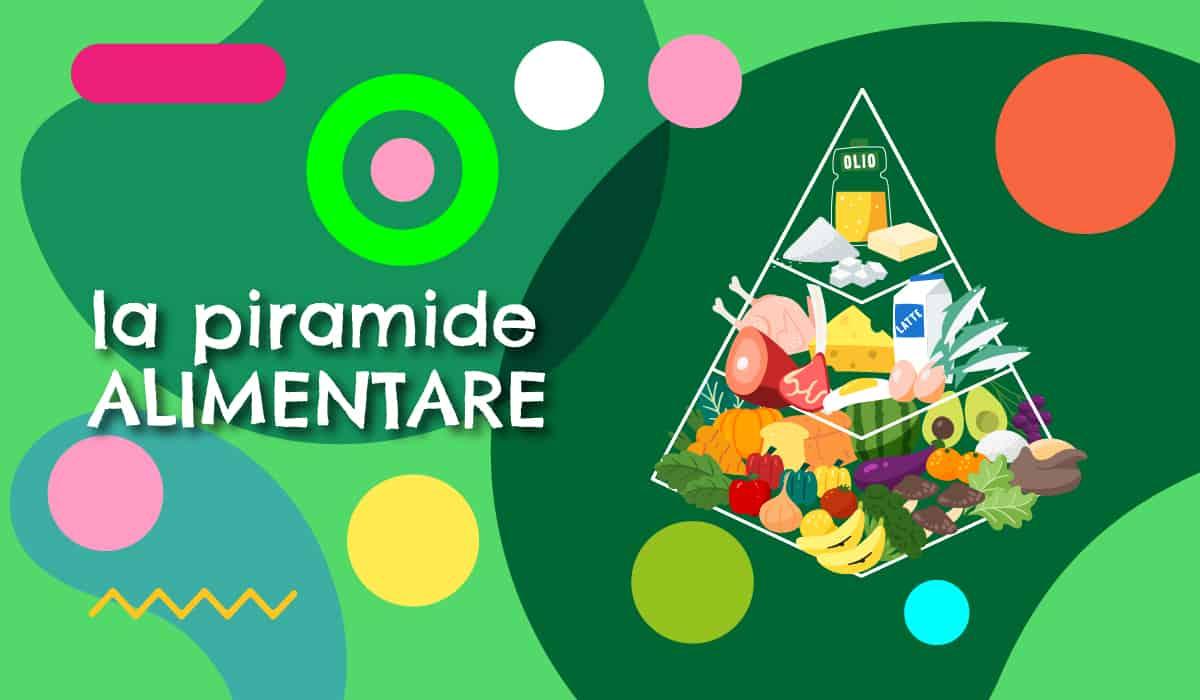 Piramide alimentare illustrazione - alimentazionebambini. It by coop