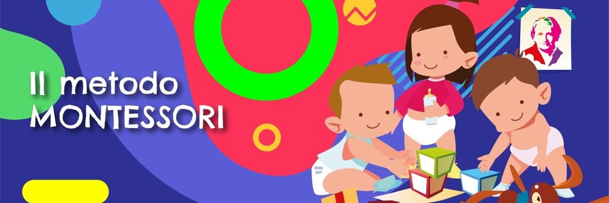 Illustrazione Metodo Montessori - rubrica di Alimentazionebambini by COOP