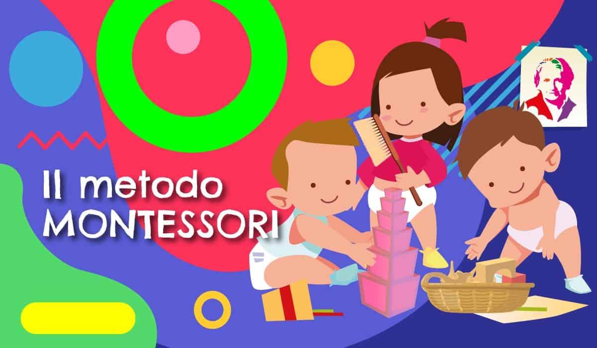 Metodo Montessori illustrazione - rubrica di Alimentazionebambini by COOP