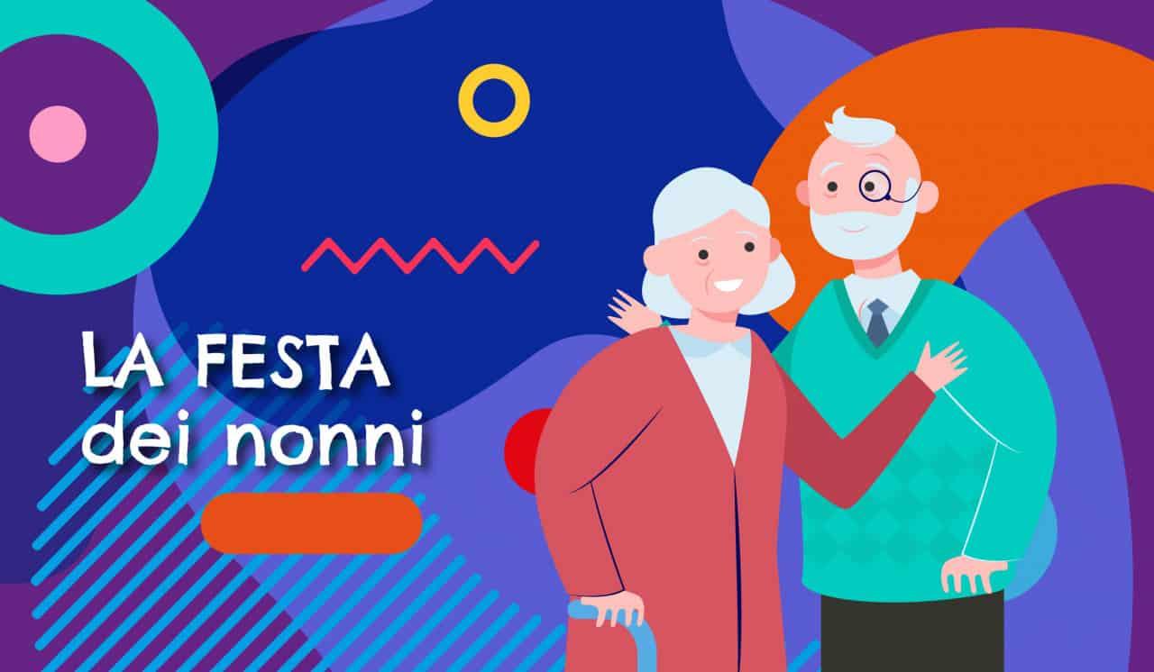 Festa dei nonni illustrazione - Alimentazionebambini.e-coop.it