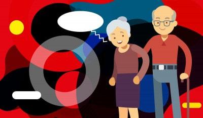 Frasi per festa nonni: illustrazione originale - alimentazionebambini. It by coop