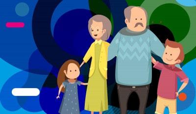 Buoni nonni: illustrazione originale - alimentazionebambini. It by coop