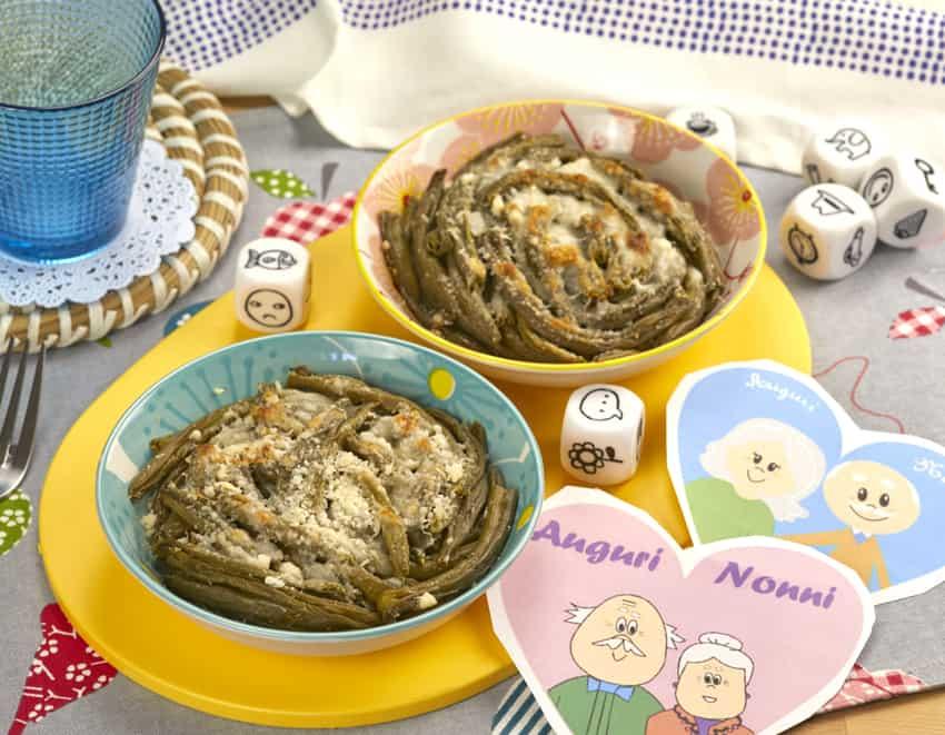 Fagiolini, contorno di fagiolini conditi con formaggio e uova - alimentazionebambini. It by coop