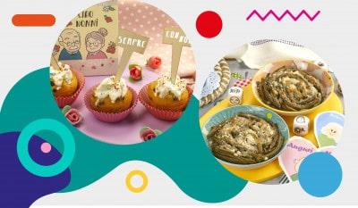 Menù per la festa dei nonni: illustrazione - alimentazionebambini. It by coop