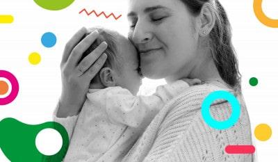 Coccole bambini e neonati: mamma abbraccia il suo bambino - alimentazionebambini. It by coop